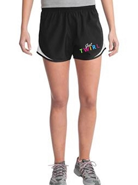 Just Twirl Athletic Shorts