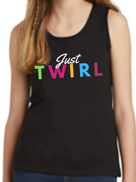 Just Twirl Youth Tank