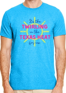 Texas Heat Adult Shirt