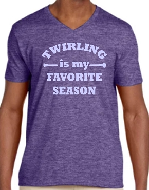 Twirl Season Adult V-Neck