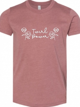 Twirl Power Youth T-Shirt